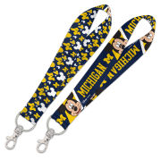 WinCraft University of Michigan Mickey Mouse Lanyard Key Strap