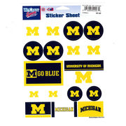 WinCraft University of Michigan 5x7 Sticker Sheet