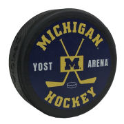 WinCraft University of Michigan Hockey Navy Hockey Puck