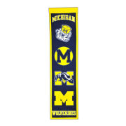 Winning Streak University of Michigan Heritage Wool Banner