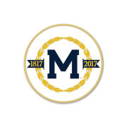 WinCraft University of Michigan Bicentennial Logo Lapel Pin