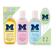 Worthy University of Michigan Baby Essentials Gift Pack
