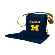 Lil Fan University of Michigan Messenger Diaper Bag