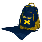 Lil Fan University of Michigan Diaper Bag Backpack