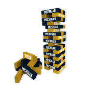 Wild Sports University of Michigan Table Top Stackers Game