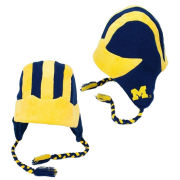 ZooZatz University of Michigan Football Helmet Tassel Knit Hat