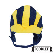 ZooZatz University of Michigan Football Toddler Helmet Knit Beanie Hat