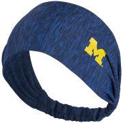 ZooZatz University of Michigan Women's Heather Navy Touchdown Headband