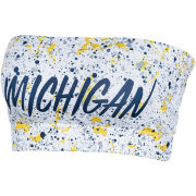 ZooZatz University of Michigan Women's Paint Splatter Bandeau