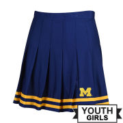 ZooZatz University of Michigan Youth Navy Cheer Skirt