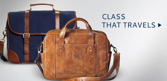 Class That Travels- Shop University of Michigan Luggage at The Victors Collection by The M Den