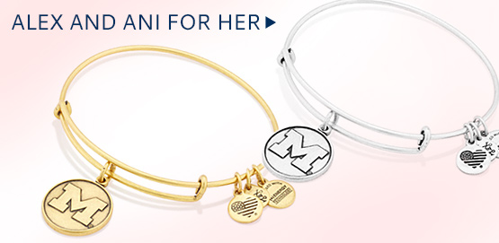 Alex and Ani for U-M fans.