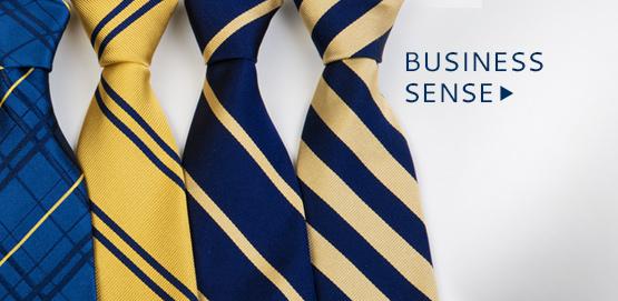 Business Sense. Shop UM neck-ties now!